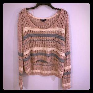 Freshman 1996 Cropped Knit Sweater